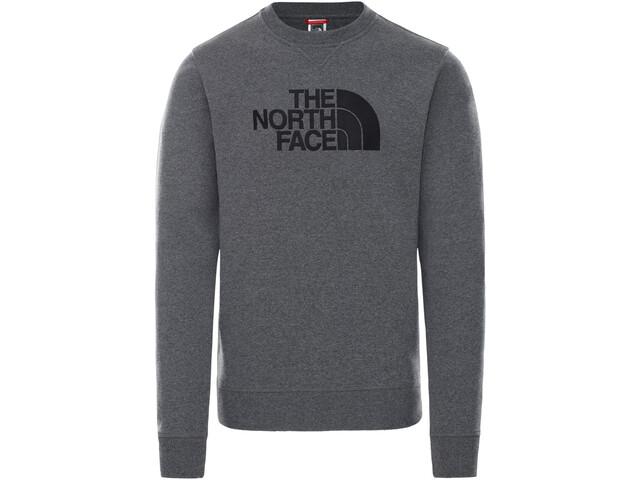 The North Face Drew Peak Suéter Cuello Redondo Hombre, gris